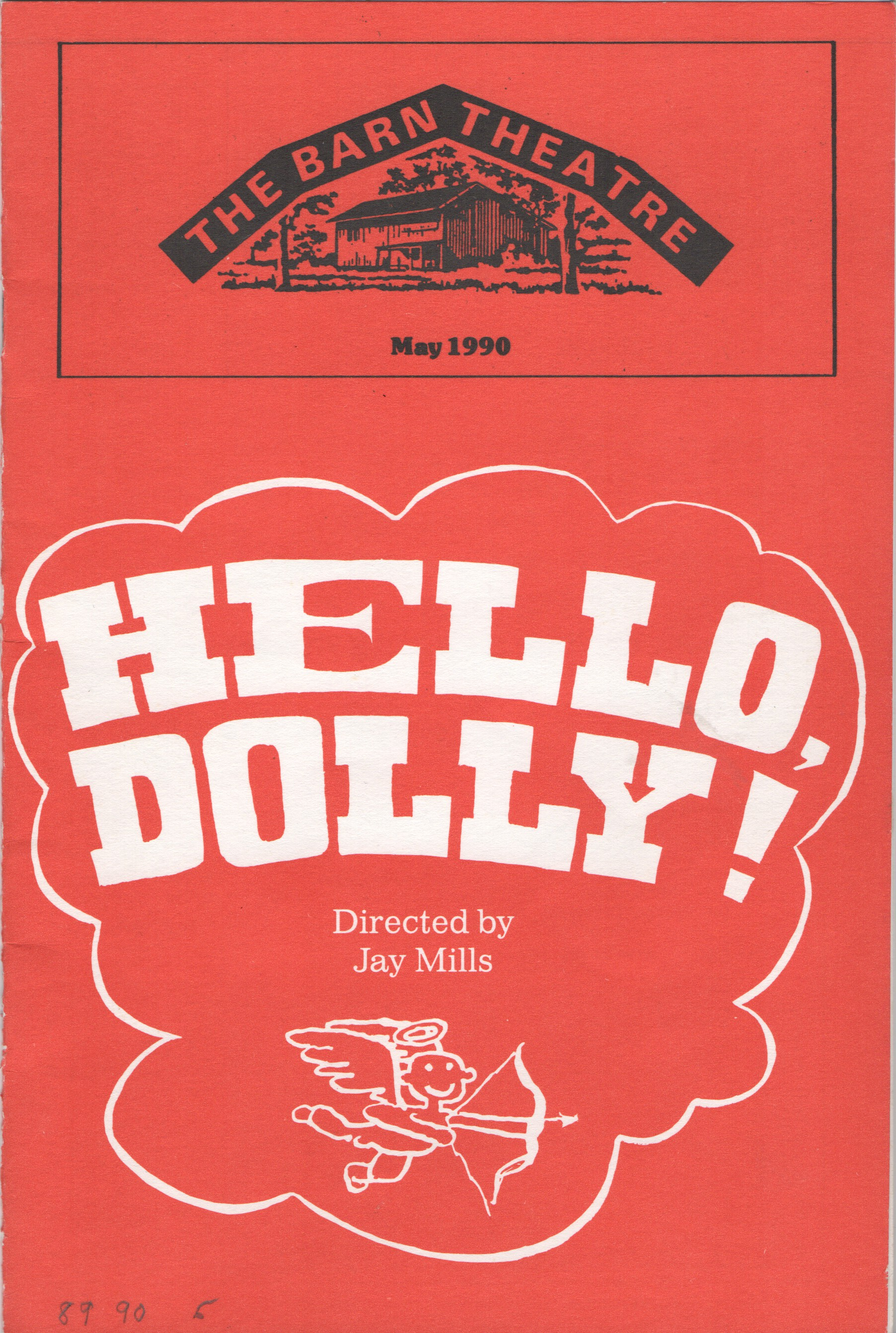 Program Cover for Hello Dolly!