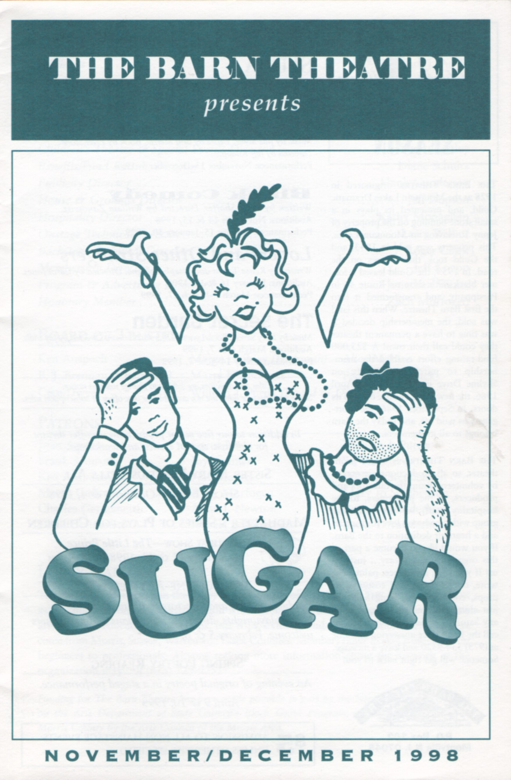 Program Cover for Sugar