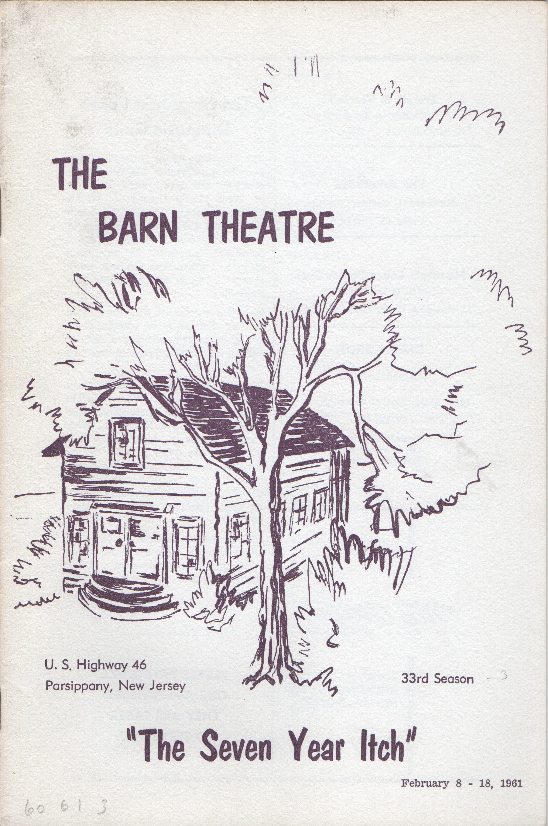 Program Cover for Seven Year Itch