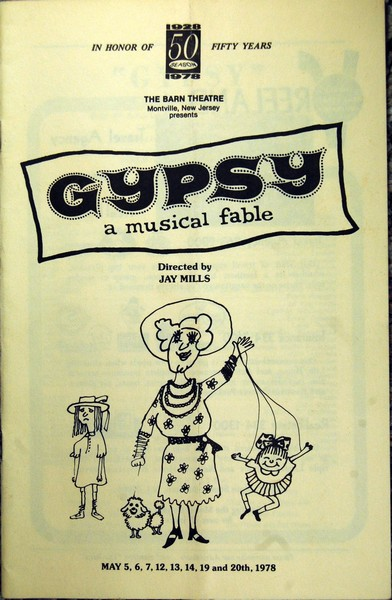 Program Cover for Gypsy