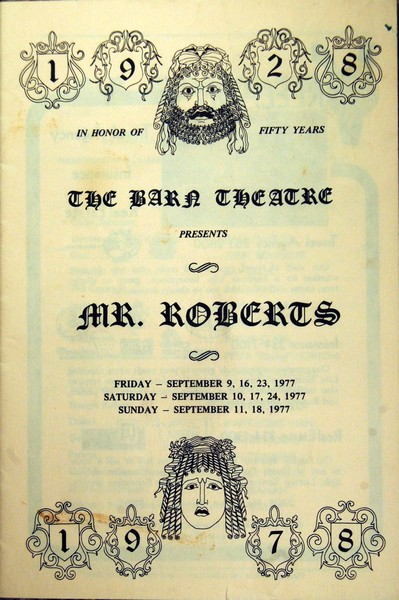 Program Cover for Mr. Roberts