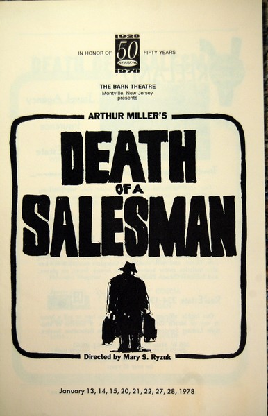 Program Cover for Death of a Salesman
