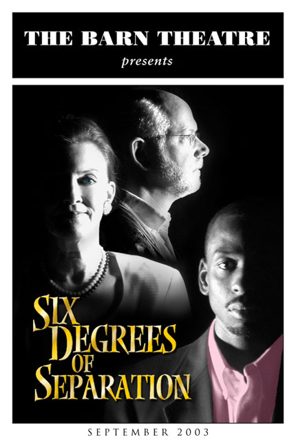 Program Cover for Six Degrees of Separation