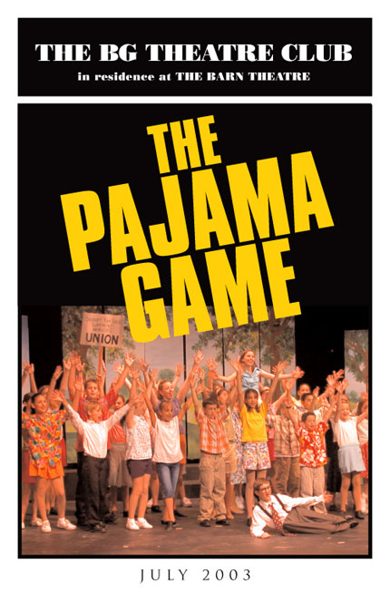Program Cover for The Pajama Game