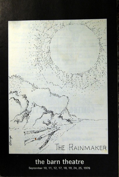 Program Cover for The Rainmaker