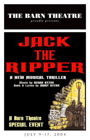 Program Cover for Jack the Ripper