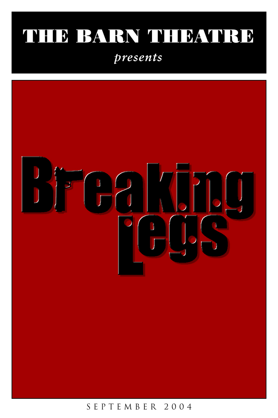 Program Cover for Breaking Legs