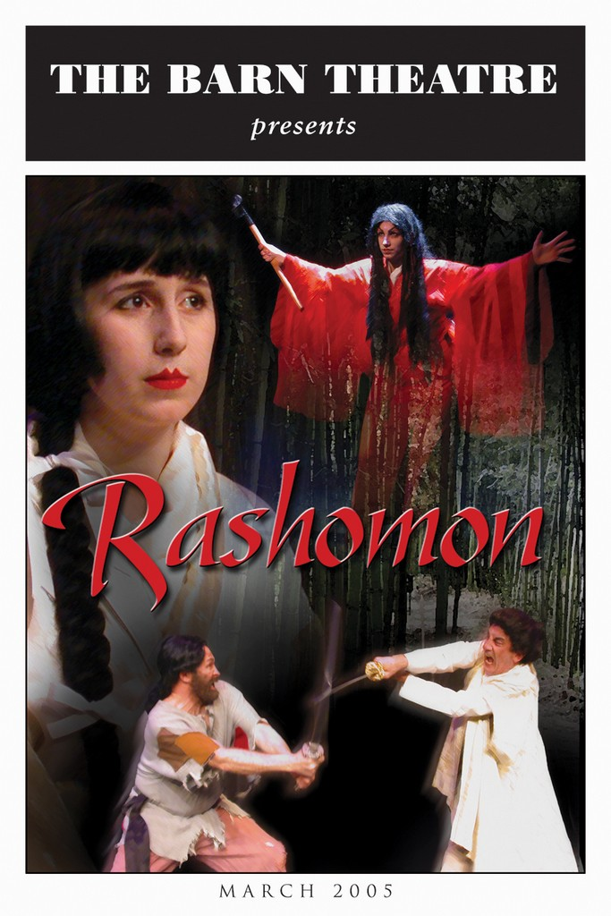 Program Cover for Rashomon