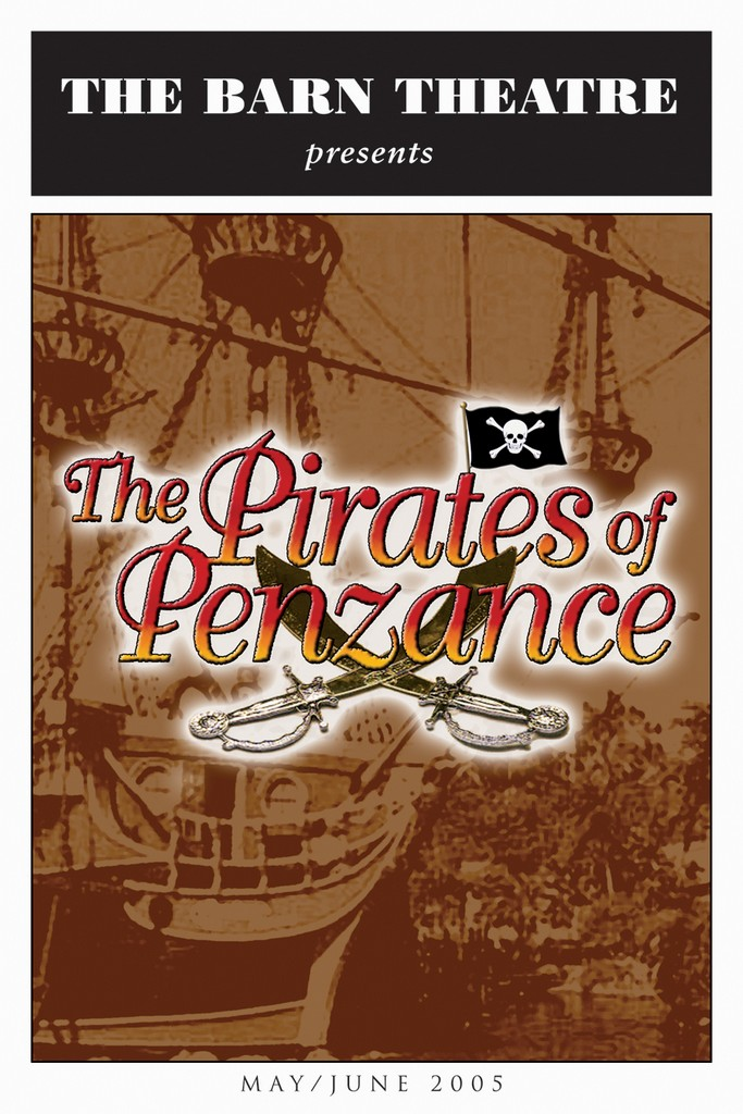 Program Cover for Pirates of Penzance