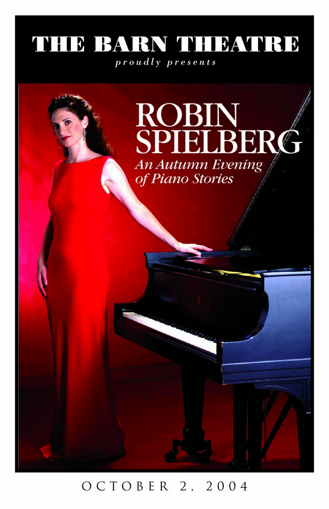 Program Cover for Robin Spielberg