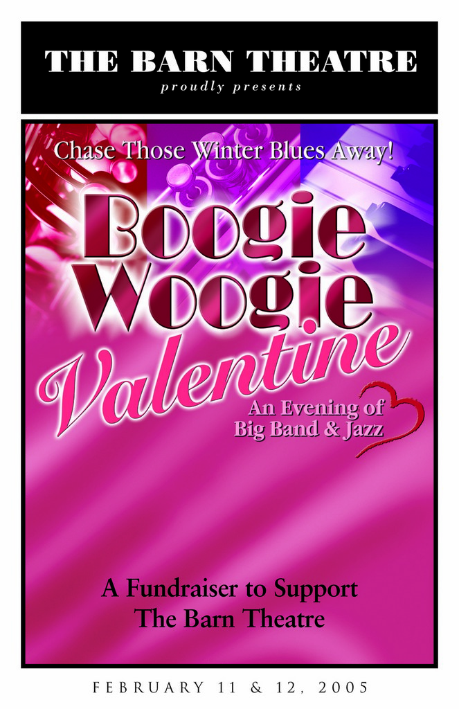 Program Cover for Boogie-Woogie Valentine