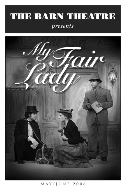 Program Cover for My Fair Lady