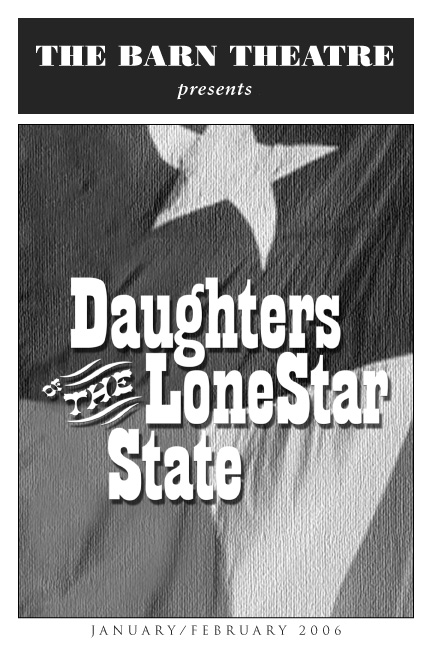 Program Cover for Daughters of the Lone Star State
