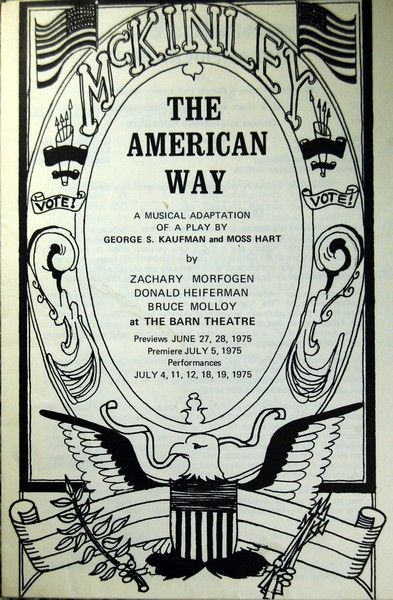 Program Cover for The American Way