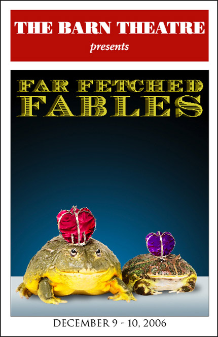 Program Cover for Far Fetched Fables