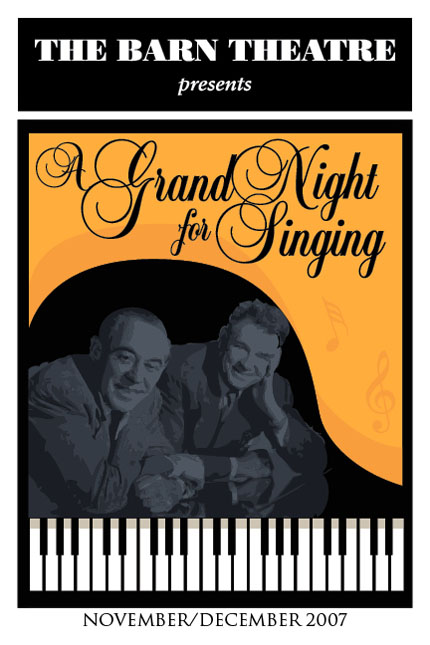 Program Cover for A Grand Night for Singing