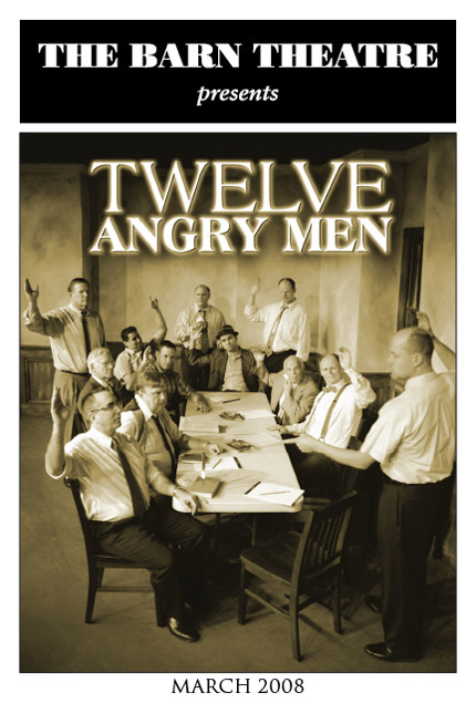 Program Cover for 12 Angry Men