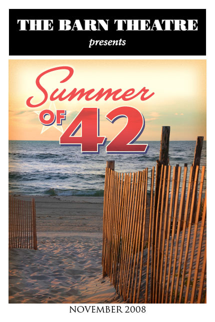 Program Cover for Summer of '42
