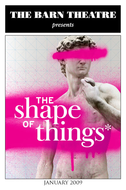 Program Cover for The Shape of Things
