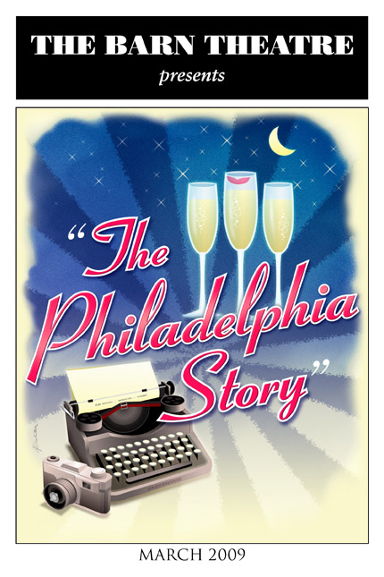 Program Cover for The Philadelphia Story