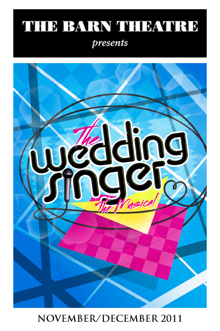 Program Cover for The Wedding Singer