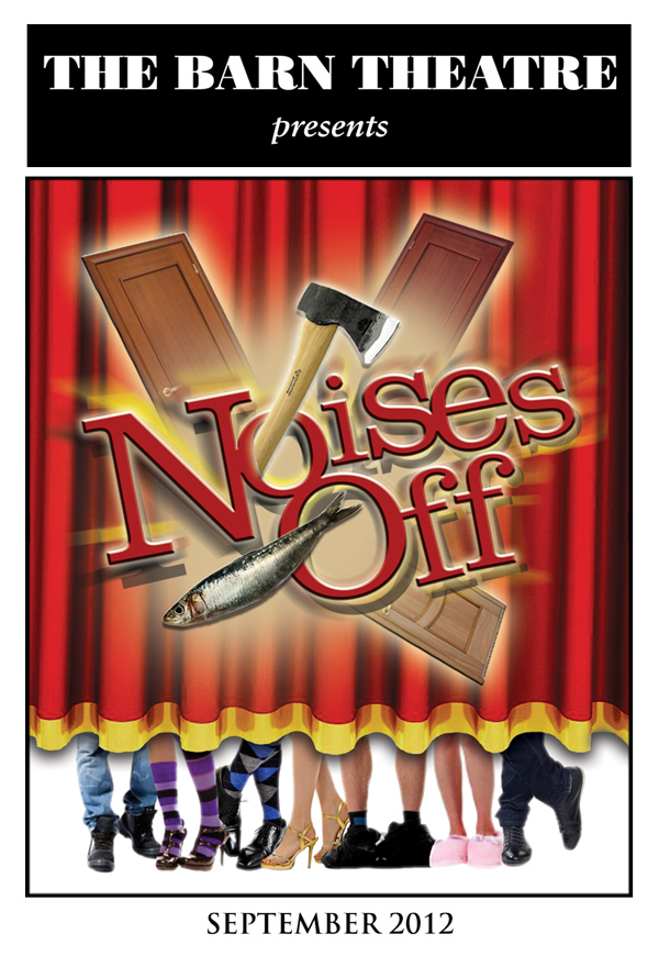 Program Cover for Noises Off