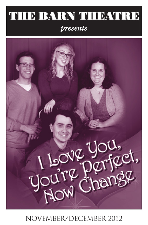 Program Cover for I Love You, You're Perfect, Now Change