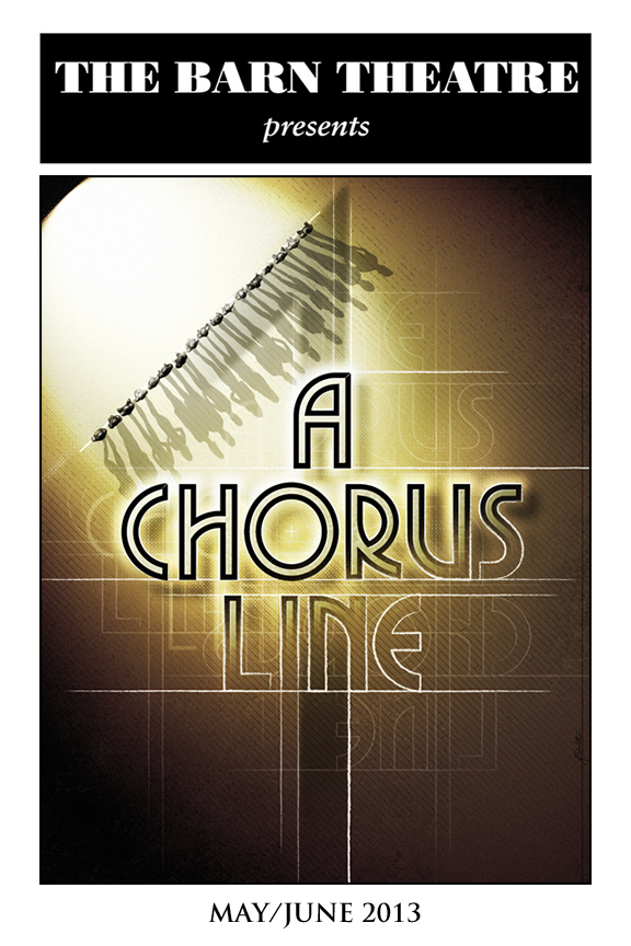 Program Cover for A Chorus Line