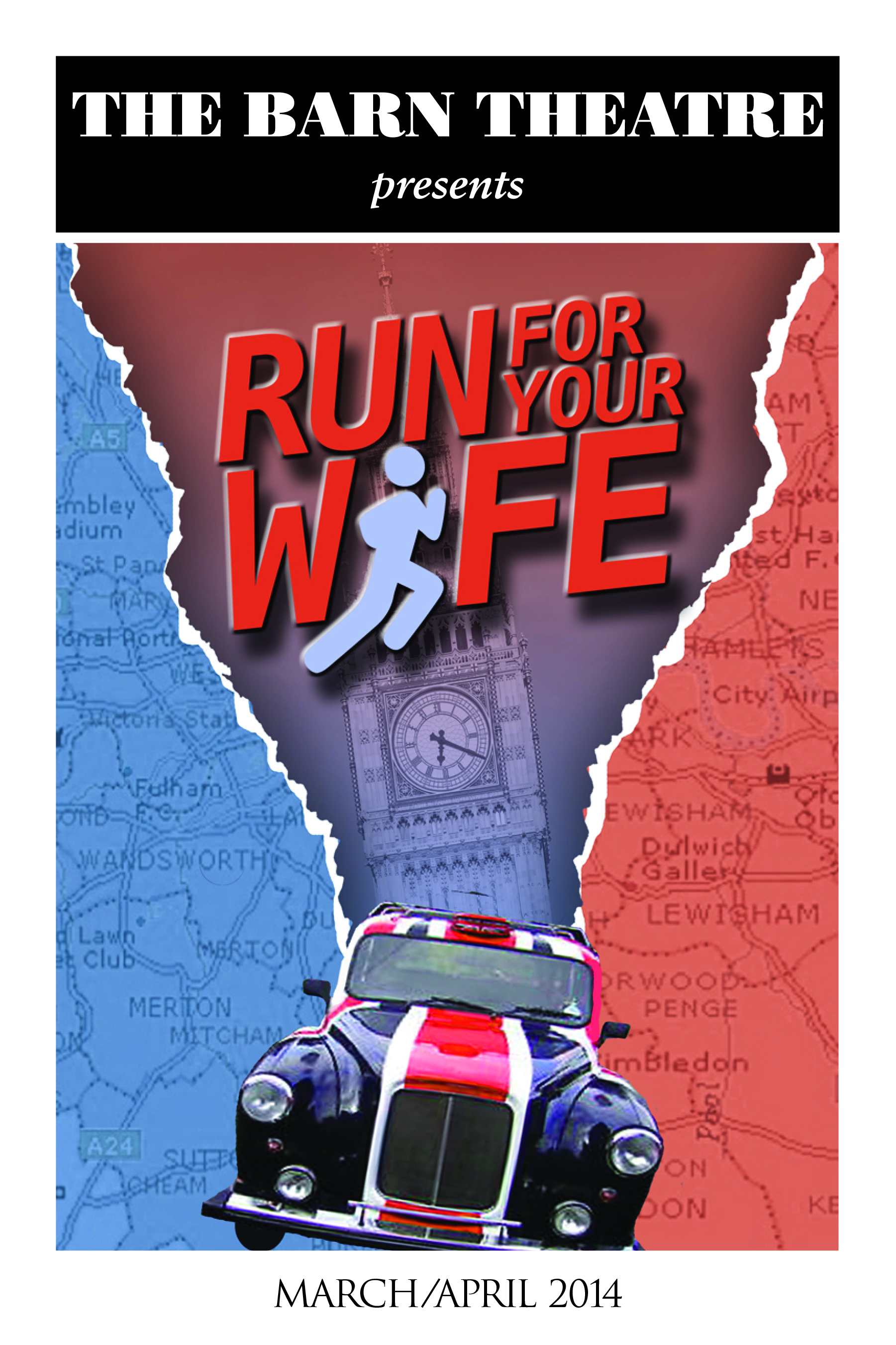 Program Cover for Run for Your Wife