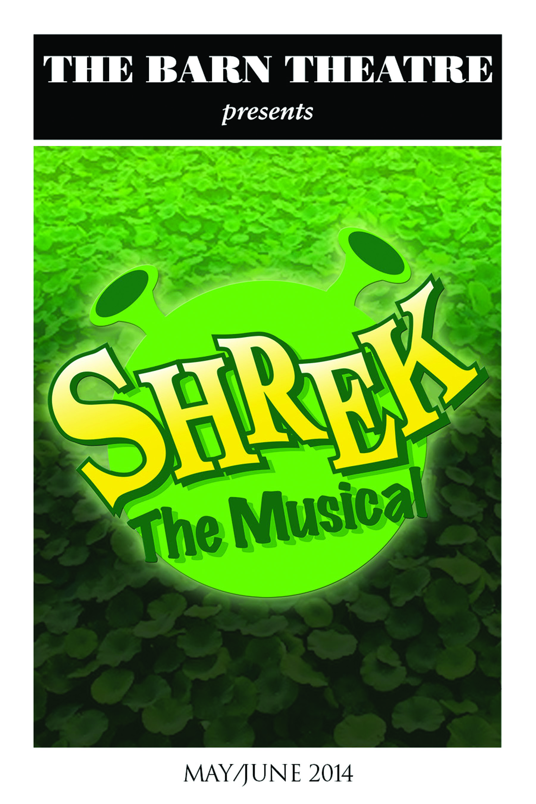 Program Cover for Shrek the Musical