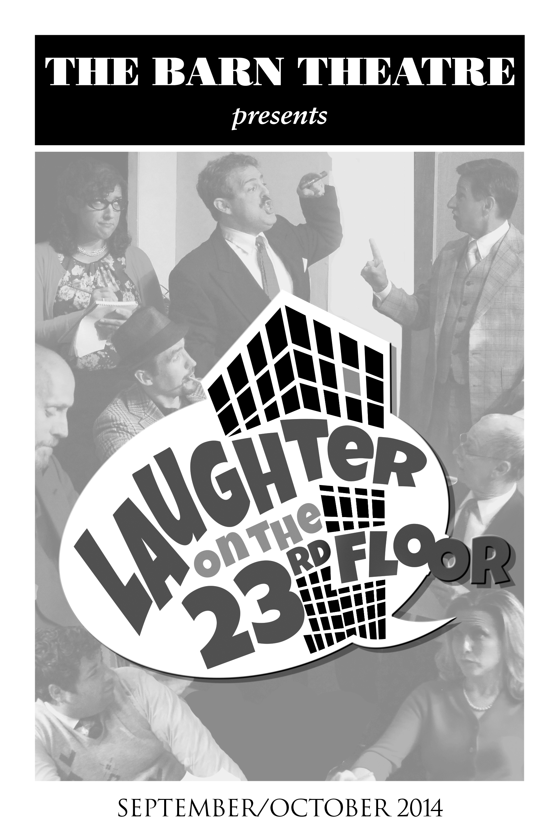 Program Cover for Laughter on the 23rd Floor