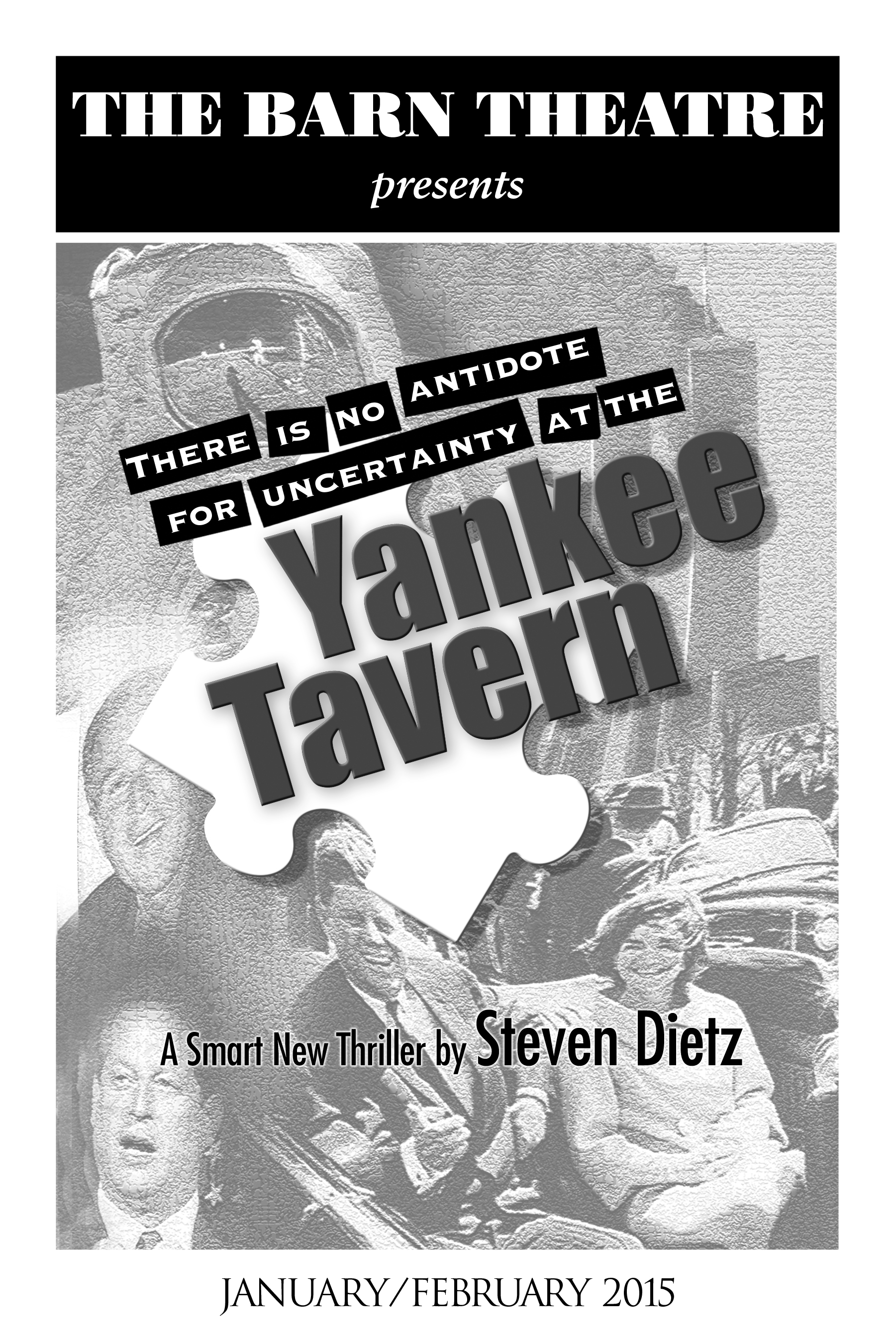 Program Cover for Yankee Tavern