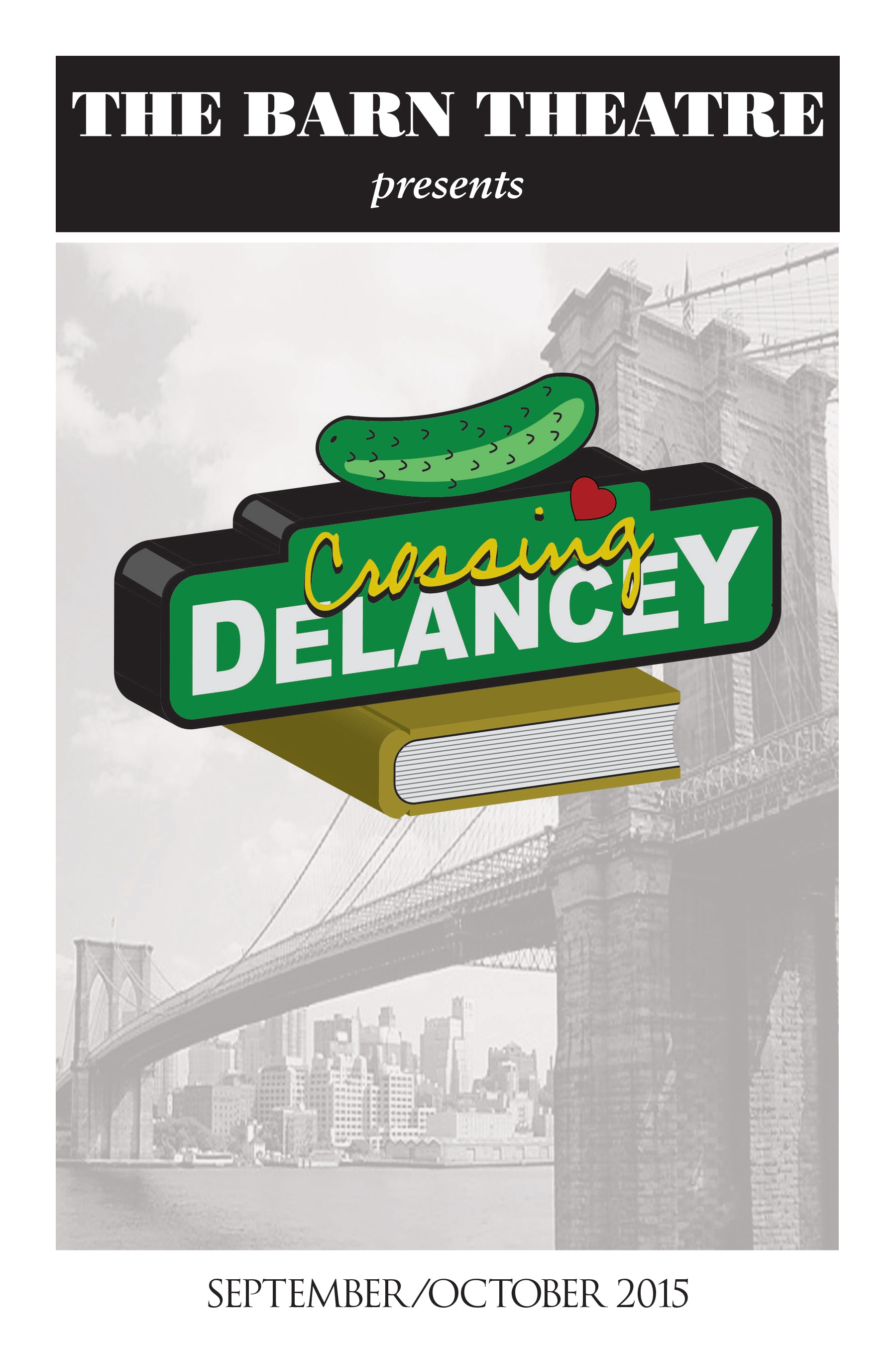 Program Cover for Crossing Delancey