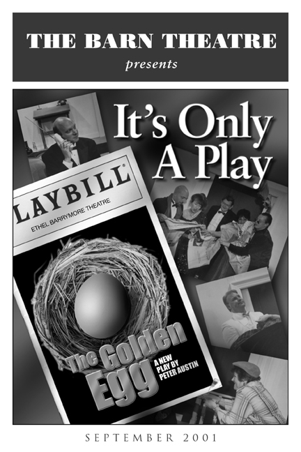 Program Cover for It's Only A Play