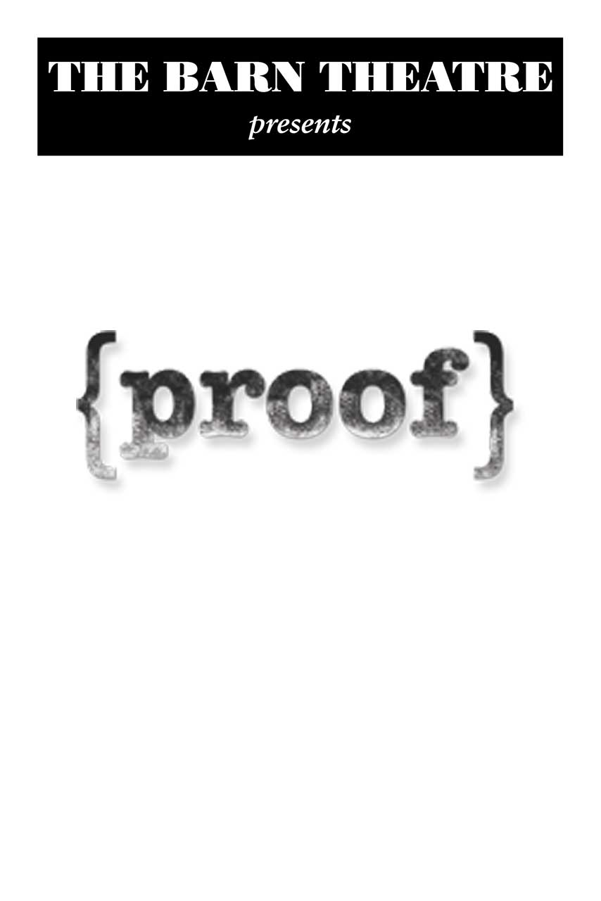 Program Cover for Proof
