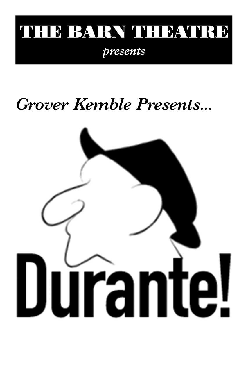 Program Cover for Grover Kemble Presents 'Durante'