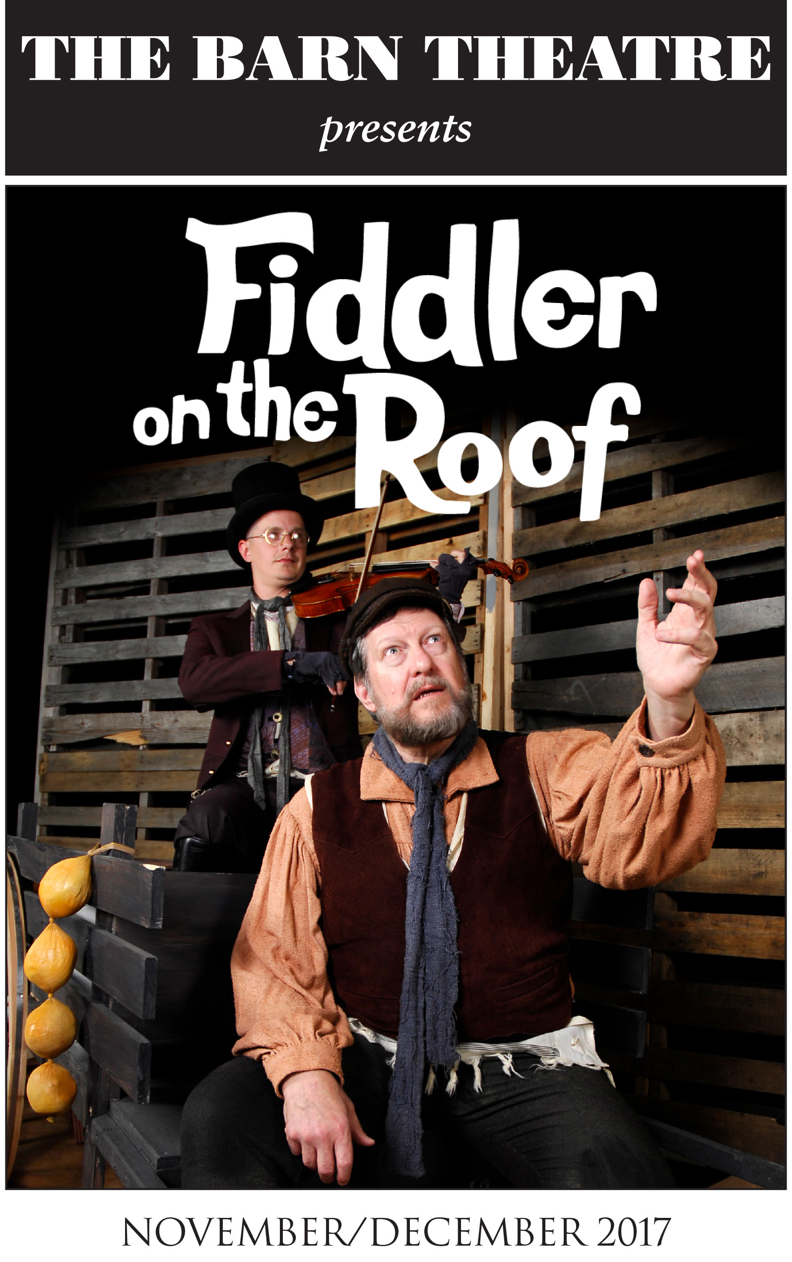 Program Cover for Fiddler on the Roof