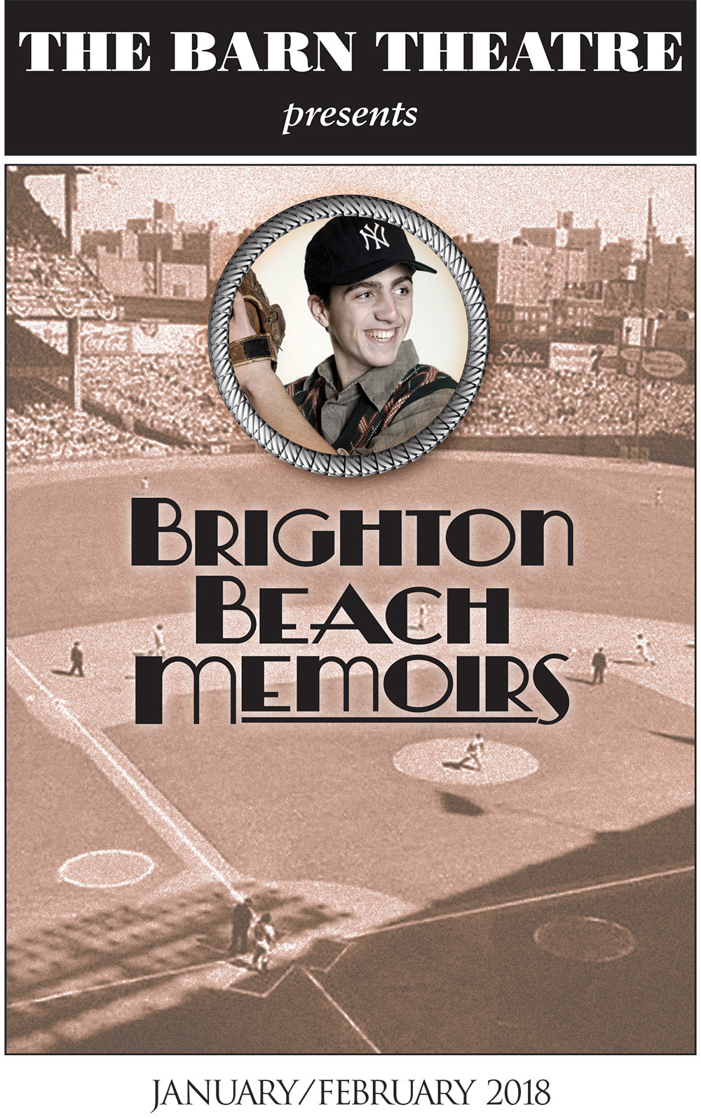 Program Cover for Brighton Beach Memoirs