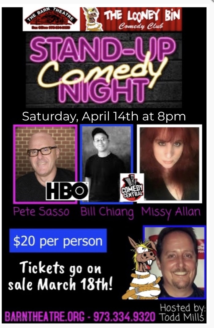 Program Cover for Stand Up Comedy Night