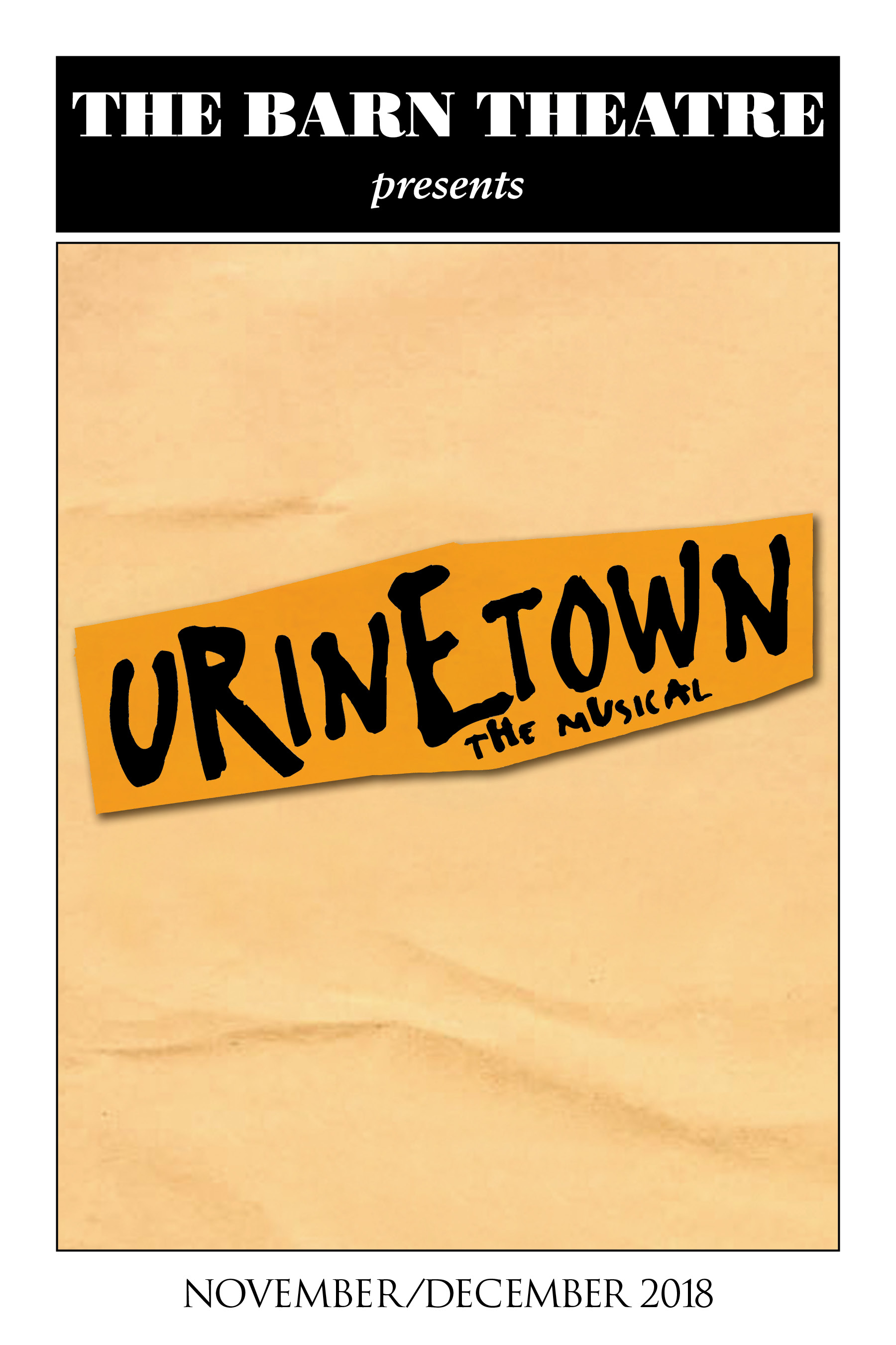 Program Cover for Urinetown