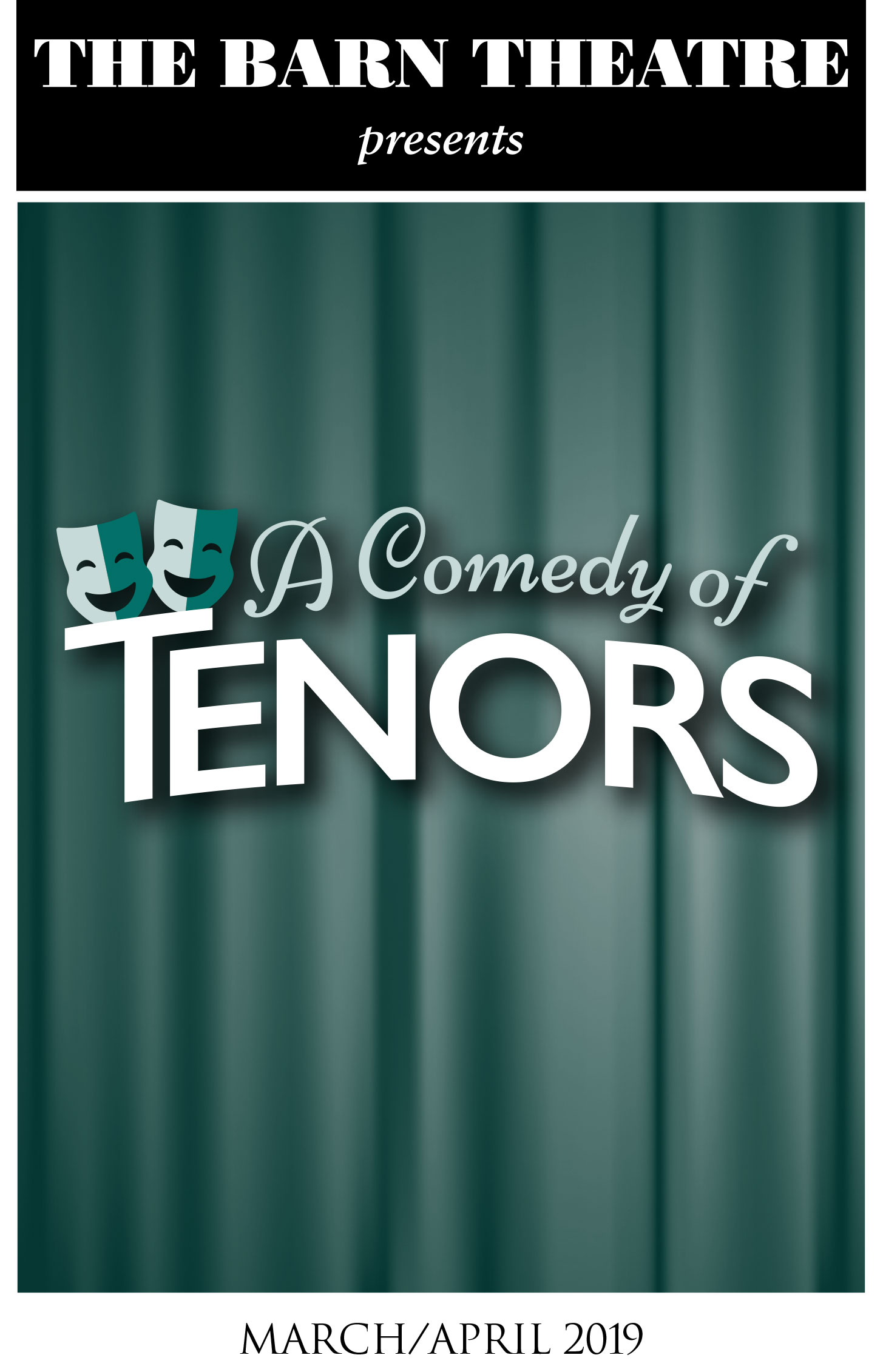 Program Cover for A Comedy of Tenors