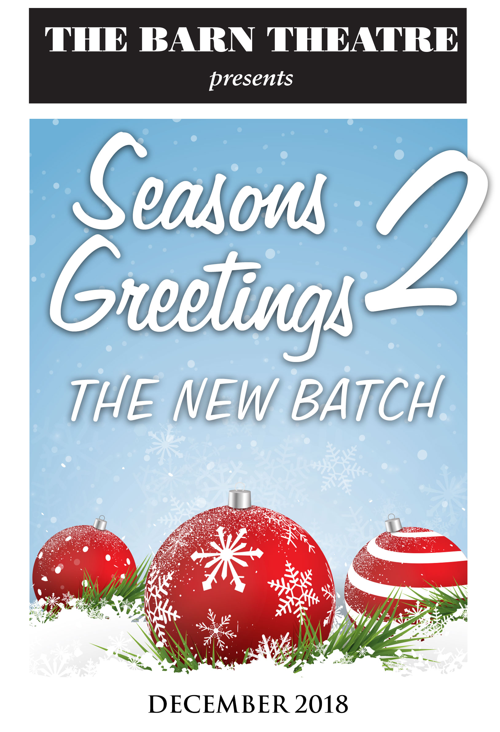 Program Cover for Seasons Greetings 2: A New Batch