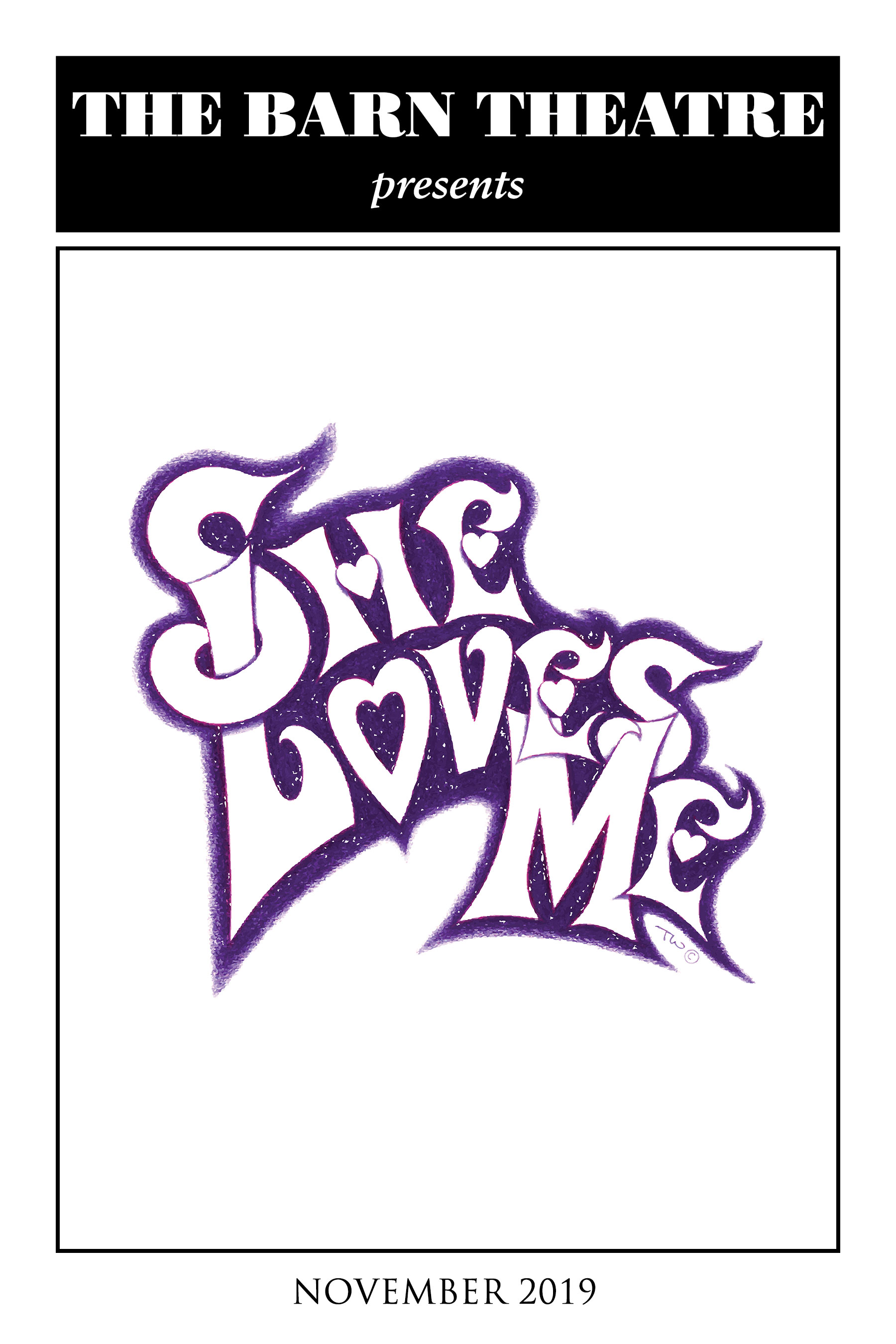 Program Cover for She Loves Me