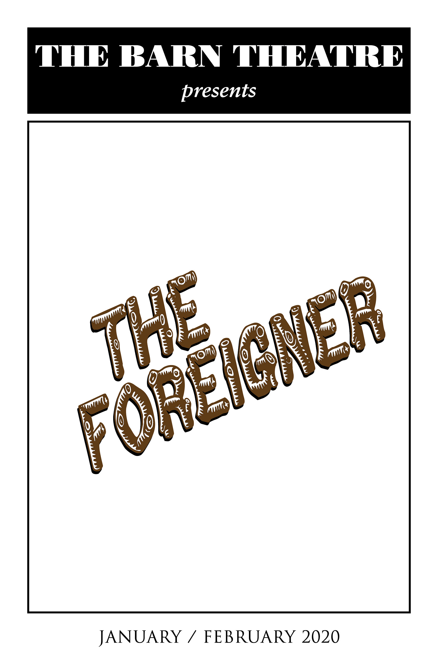 Program Cover for The Foreigner