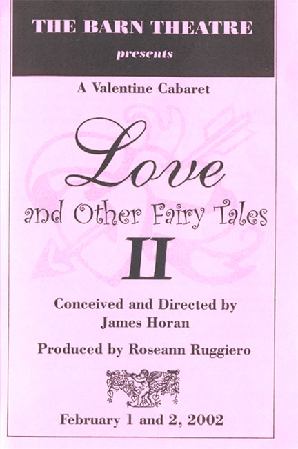 Program Cover for Love and Other Fairy Tales II