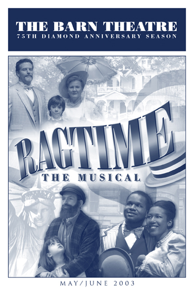Program Cover for Ragtime
