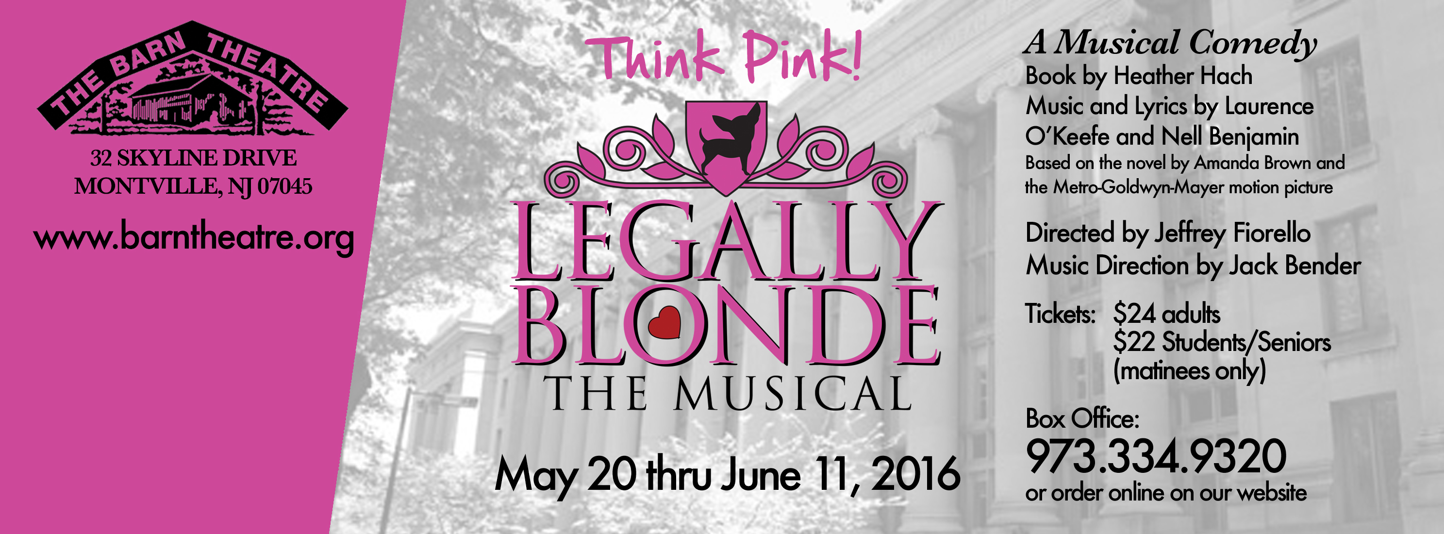 Legally Blonde May 20 18 - June 11