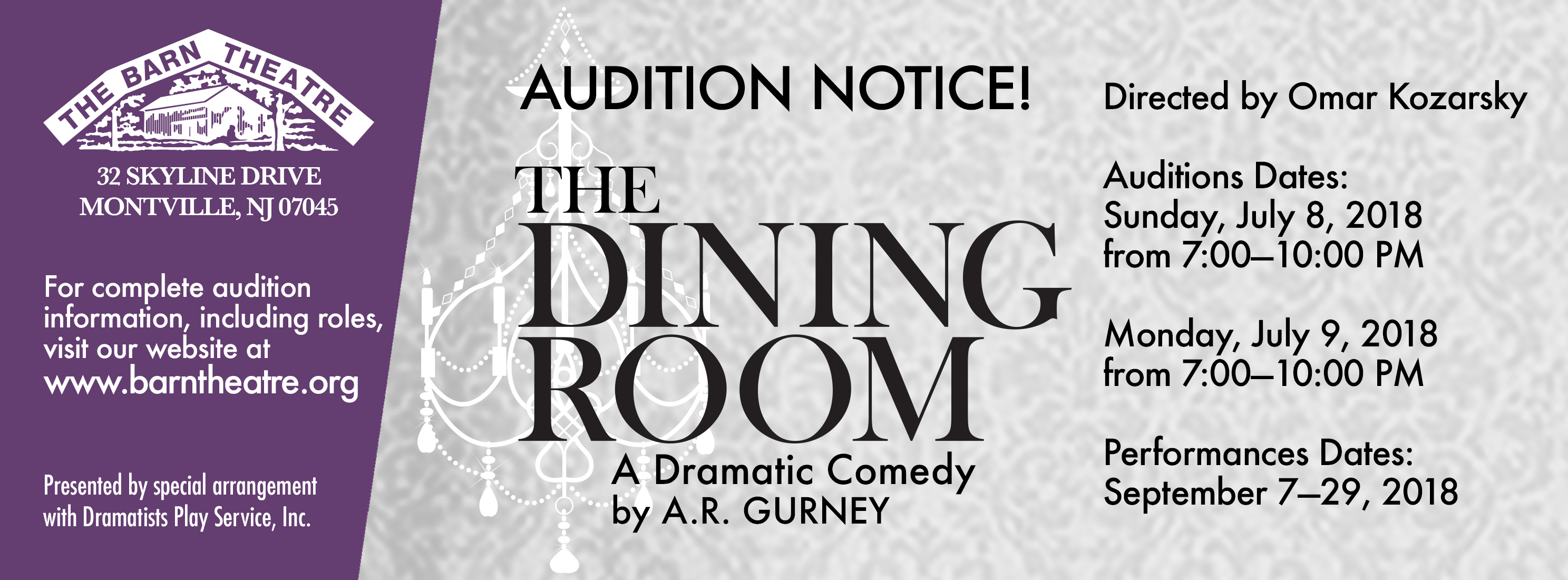 The Dining Room Auditions