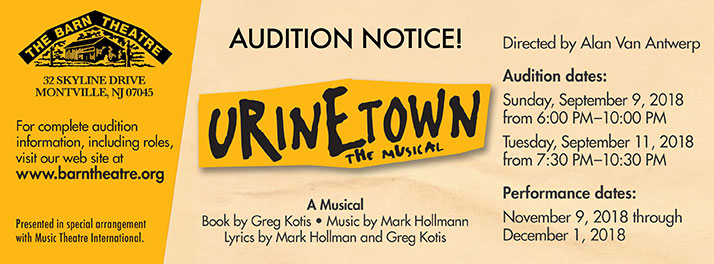 Urinetown Auditions