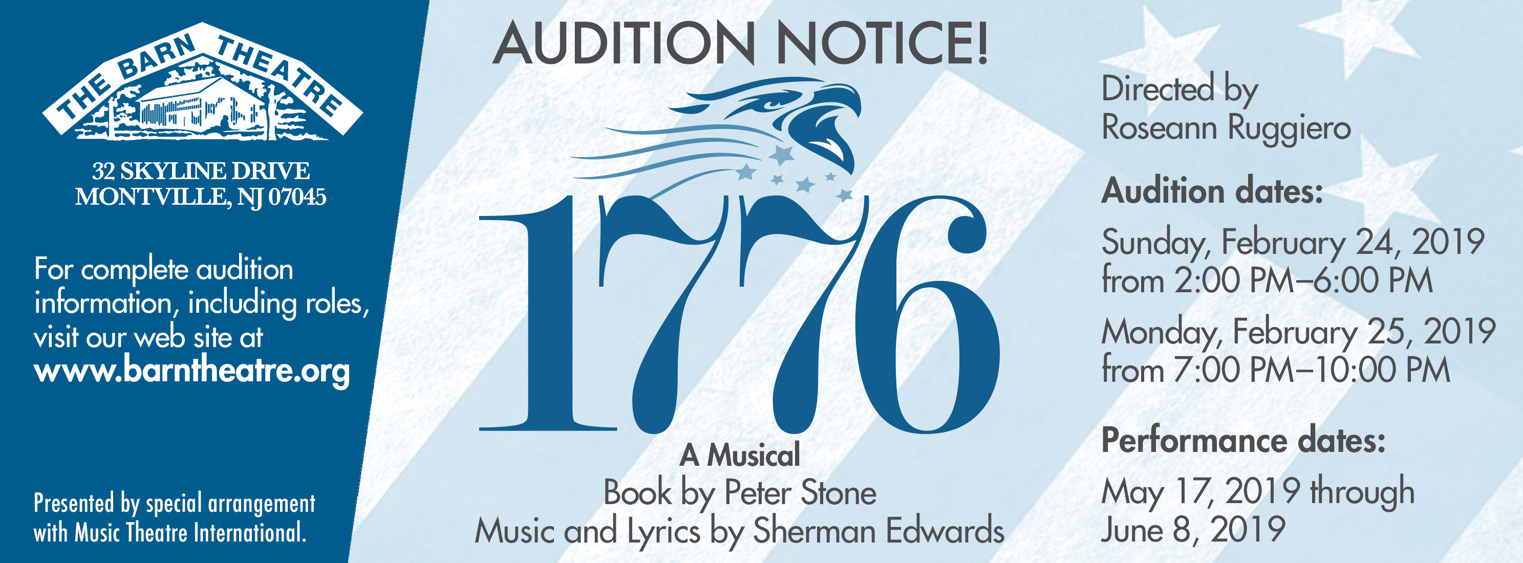 1776 Auditions